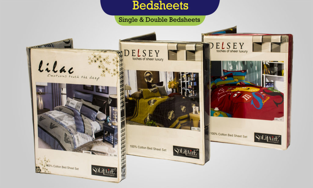 Solitare Bedsheets